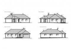 Novostavba RD v obci Křížkový Újezdec