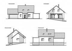 Novostavba RD-dřevostavba, v obci Pavlíkov, okres Rakovník